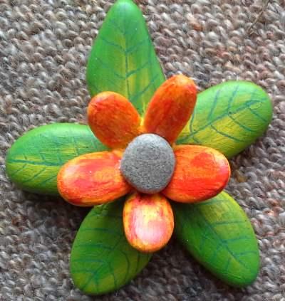 pebble-flower